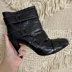 Miss Sixty Black Ankle Boots